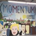 Local Artist, Troy Ford, Completes Mural Installation at Momentum Art Studio