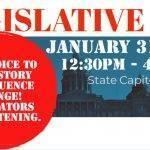 Legislative Day January 31st, 2019!