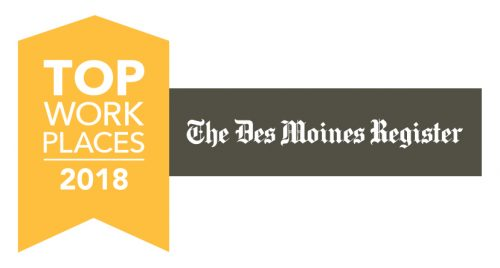 Des Moines Register 2018 Top Workplaces